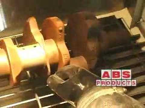 Glass Bead Blast Cabinet - ABS Products - YouTube