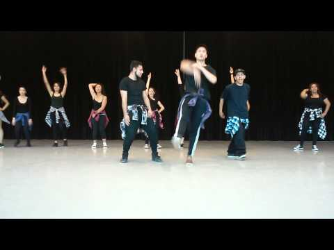 Dance performance for midterm Chaffey college