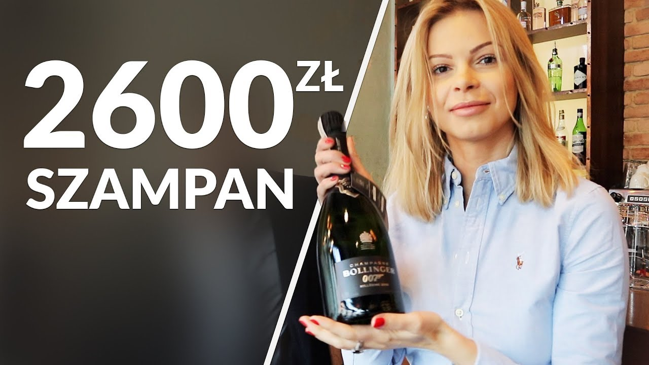 Komu kupiłam szampana za 2600 zł?