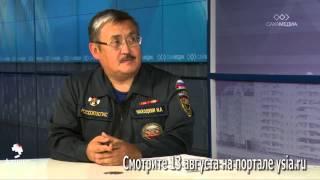Начальник Службы спасения Якутии в передаче