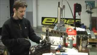 How to make a 8 port mini head - documentary - Elmer Racing