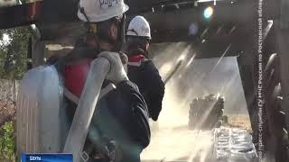 Потушили пожар в шахте:  на Дону прошли соревнования горноспасателей