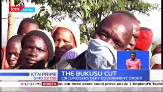 It is business as usual as the bukusu cultural rite of passage goes on; circumcisers defy govt order