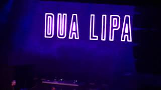 DUA LIPA // 98.7amp Radio - kringle Jingle 2017 / Detroit