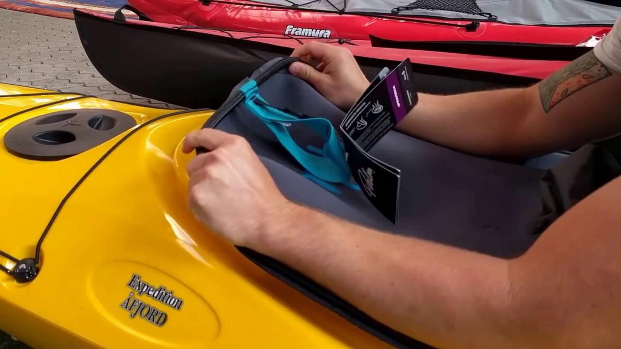 Pro Polyethylen SeaBird Seekajak Tourenkajak Kajak Afjord