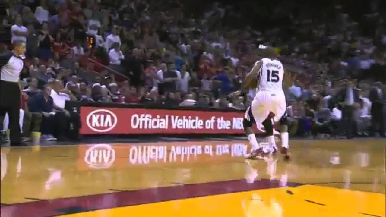 Lebron James Miami Heat Dunk