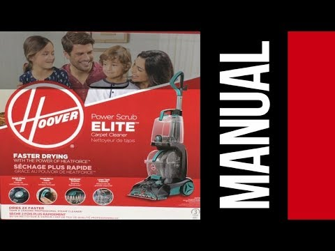 Hoover Power Scrub