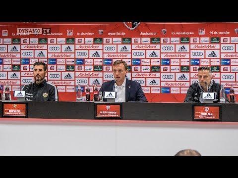 31. Spieltag | FCI - SGD | Pressekonferenz nach dem Spiel