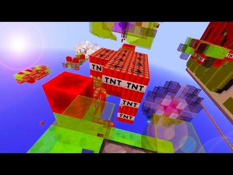 EPIC MISSILE WARS! Minecraft: NEW 1.8 MISSLE MINI GAME!
