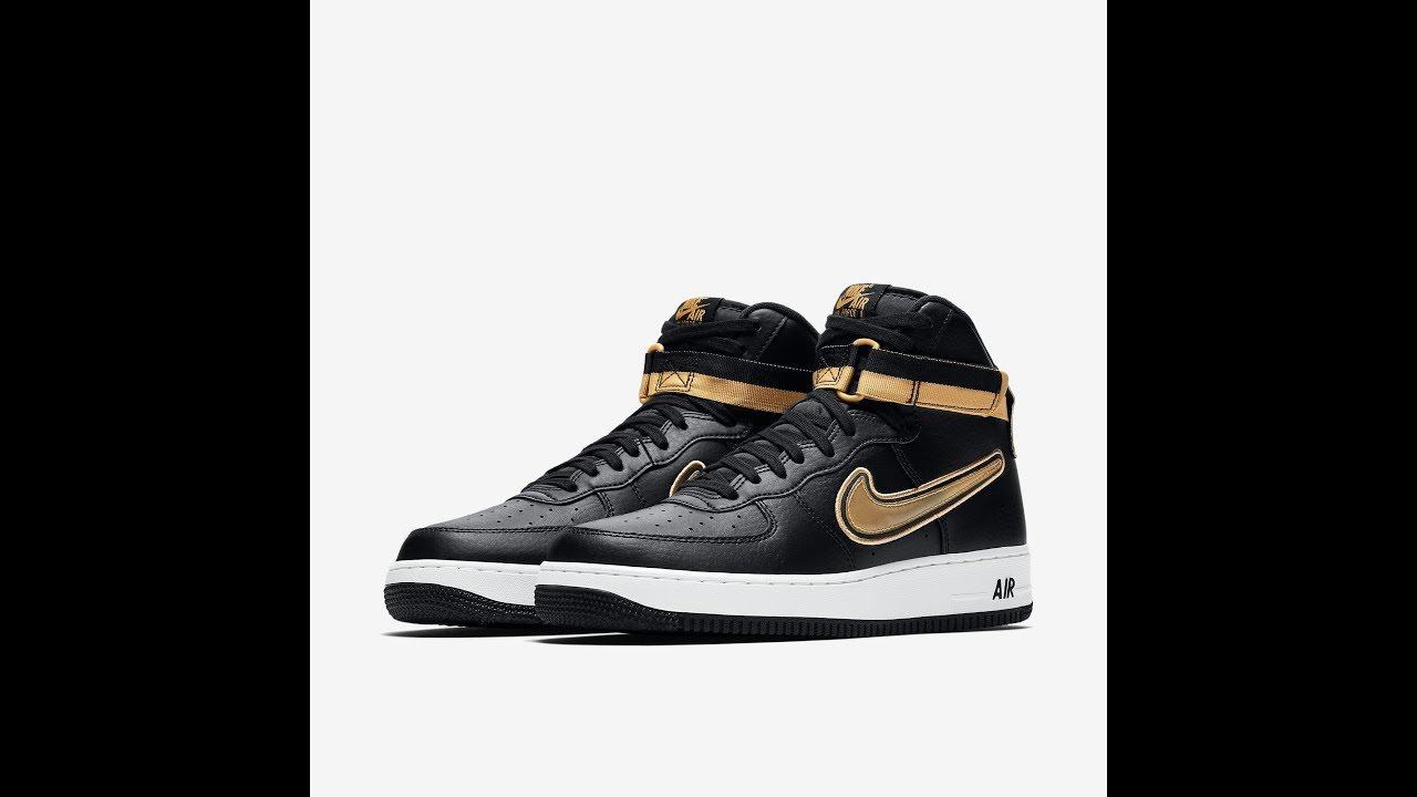 brand new 0367f 7dac0 Unboxing Tenis Nike Air Force 1 High  07 LVL8 Sport