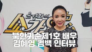 [북한귀순1호배우겸 가수 김혜영] 컴백 화제 최신곡 &…