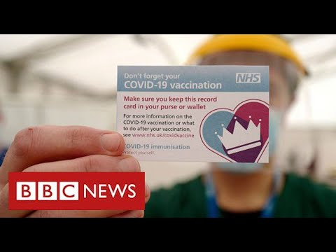 "UK considers ""vaccine passports"" to prove Covid protection - BBC News"