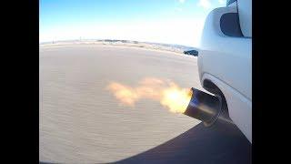 Baixar Subaru Leagay GT single exit exhaust sounds and FLAMES!!