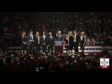 Download Full Speech: Donald Trump MASSIVE Rally in Manchester, NH 11/7/16