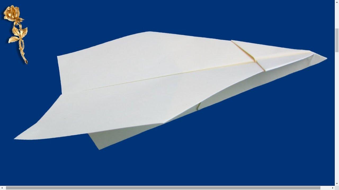 origami facile avion youtube. Black Bedroom Furniture Sets. Home Design Ideas