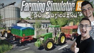 """Jest Cena Jest Wyjazd Na Skup $$ Żniwa Łubinu 2019 ✔ """"Po Sąsiedzku""""#27 Farming Simulator 2019"""