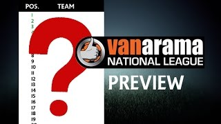 Vanarama National League 2016/17 Prediction | Non League YT