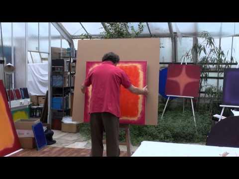 Color Field Painting - STANKO Farbfeldmalerei - Ein Meer von Farben