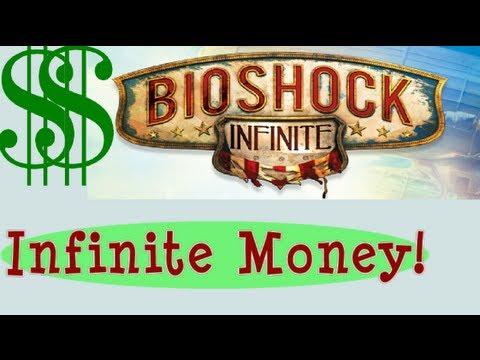 INFIINITE MONEY CHEAT!! Unlimited GEAR Lockpicks Silver Eagles Glitch Bug - Bioshock Infinite