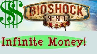 INFIINITE MONEY CHEAT!! Unlimited GEAR lockpicks silver eagles glitch bug - Bioshock Infinite