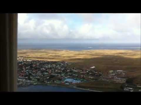 Figas flight Falkland Islands