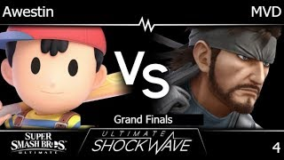 USW 4 - FX | Awestin (Ness) vs PG | MVD (Snake) Grand Finals - SSBU