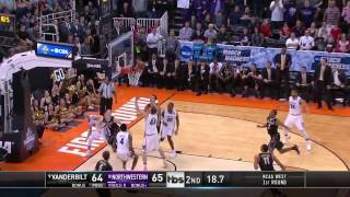 Vanderbilt vs Northwestern March Madness Highlights 2017