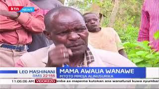 Mama awaua wanawe kwa kuwarusha mto Nzoia