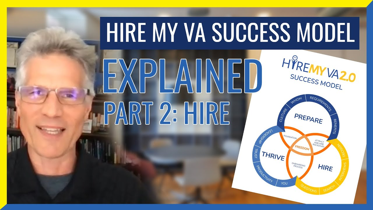 """HireMyVA Podcast 84- Can you Explain the HireMyVA """"Success Model""""? (Part 2 - HIRE)"""
