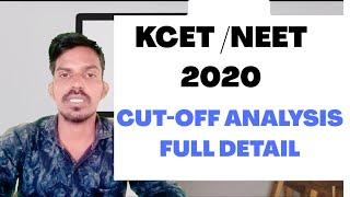 KCET /NEET CUT OFF ANALYSER FULL DETAILS