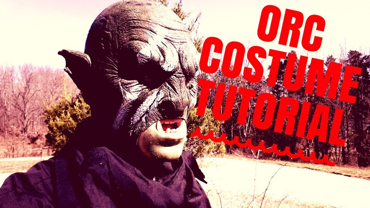 Orc Costume Tutorial ~ World of Valternia LARP