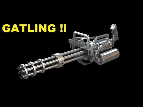 Gatling Silahı Hakkında Merak Edilenler