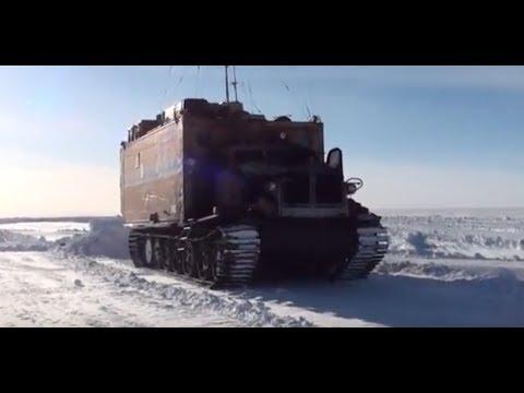 Экскурсия по станции Восток, часть вторая. 2015 год.60-я Российская Антарктическая Экспедиция.