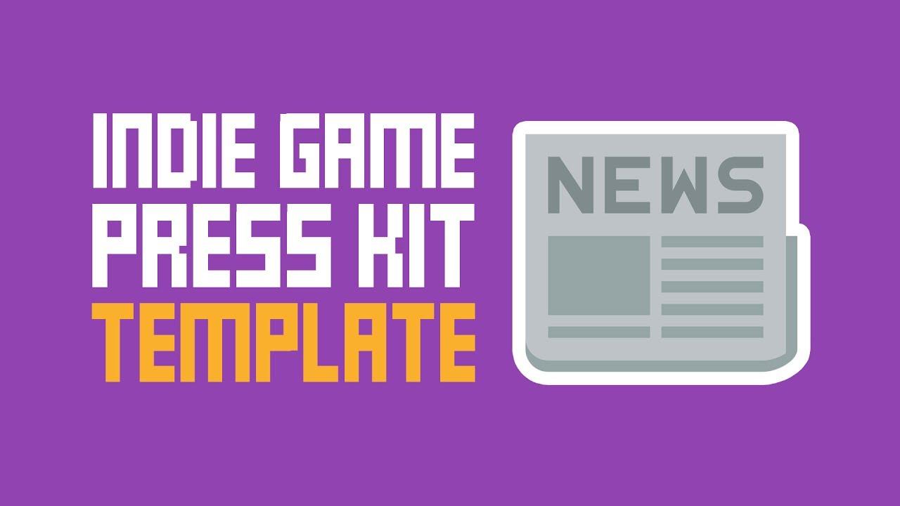 Indie Game Press Kit Template