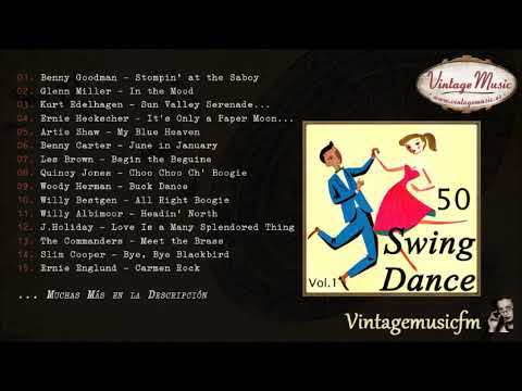 50's Swing for Dance, The Best Big Bands (Full Album/Álbum Completo) Vol. 1
