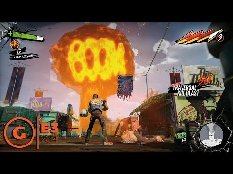Sunset Overdrive  E3 2014 Gameplay Demo at Microsoft Press Conference