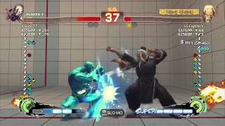Part 2- The Smurfa Face SSF4AE 2012 Tokido (Seth) vs Xian (Gen)