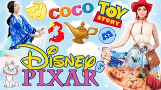 I BASED MY OUTFITS ON DISNEY / PIXAR MOVIES: PART 2! | Style Walkthrough: BlackMilk Disney Pixar
