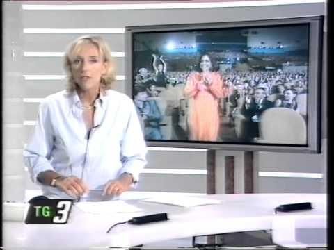 """Raitre - """"Tg3"""" Edizione - 8 Settembre 2001"""
