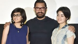 Haanikaarak Bapu | Dangal - Offical Song Launch | Aamir Khan, Fatima Sana Shaikh, Sanya Malhotra