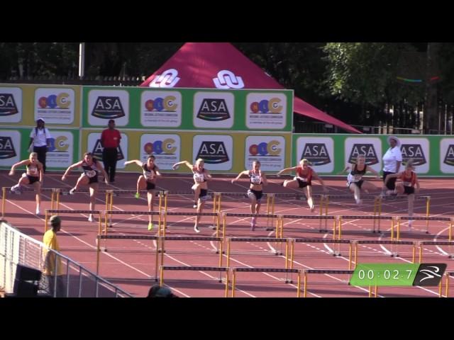 WOMEN 100m HURDLES