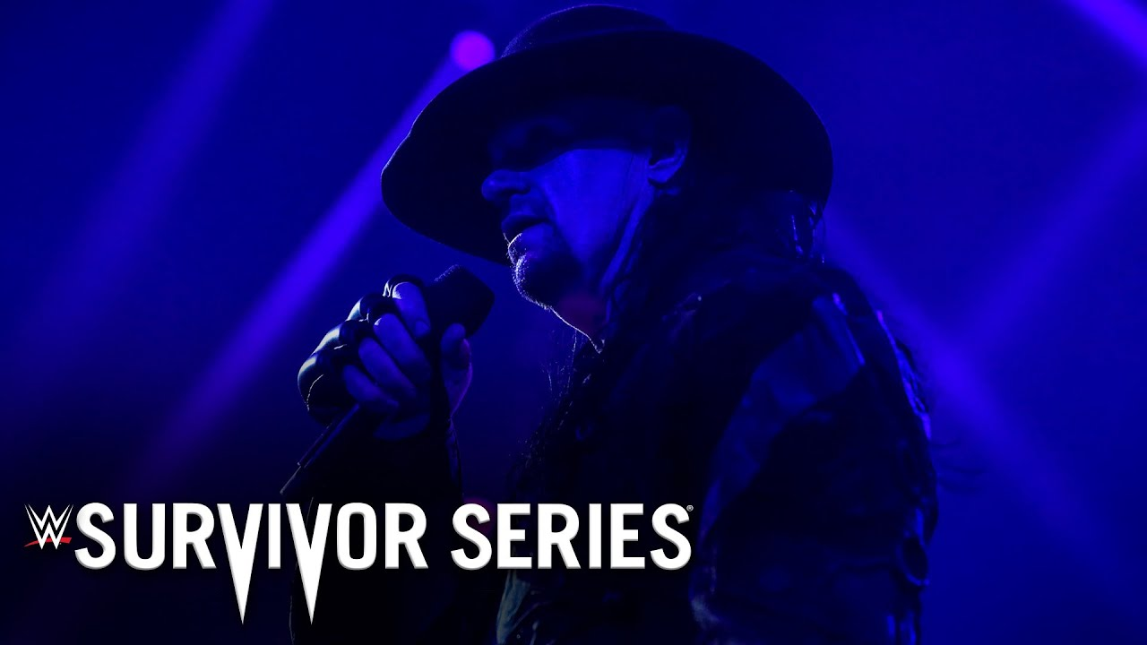 Download The Undertaker says Final Farewell to the WWE Universe: Survivor Series 2020 (WWE Network Exclusive)