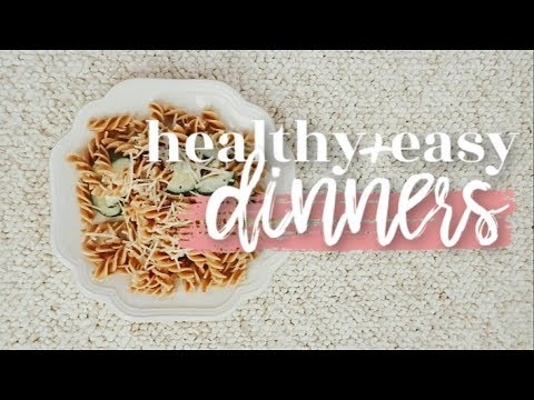 5 HEALTHY + EASY DINNER IDEAS | Becca Bristow
