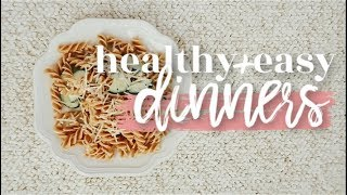 5 HEALTHY + EASY DINNER IDEAS | Becca Bristow