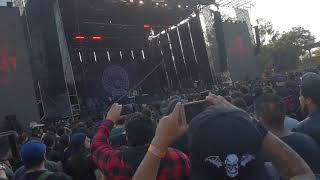 Of Mice & Men - Earth & Sky live Knotfest Mexico 2019