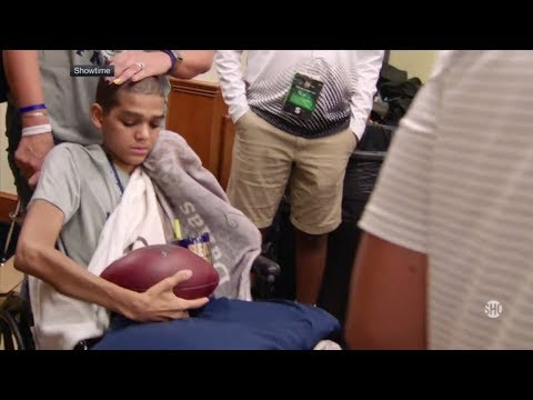 Navy assistant's son fights for a new heart | College GameDay | ESPN