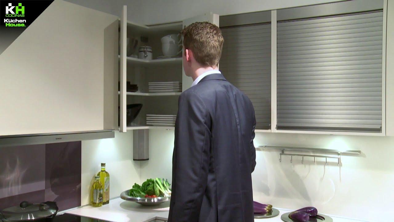 Soluciones de rinc n de cocinas kuchenhouse youtube - Amueblamiento de cocinas ...