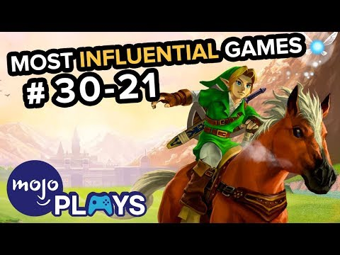 50 Most Influential Video Games - #30-21