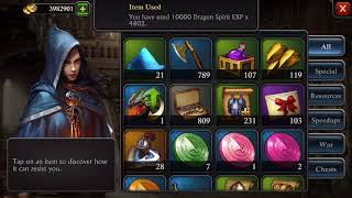 King of Avalon: Howto labyrinth plunder and hitting dragon spirit 60