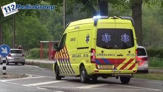 08 mei 2019 Drie gewonden bij ongeval in Doorn, traumateam ingezet